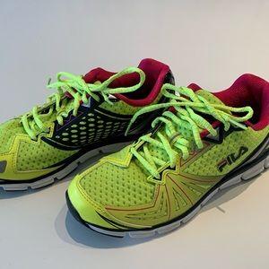 FILA Running Shoes. NWOT. Size 8.5